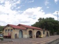 Southwest Chief - Lamy, NM Train Station