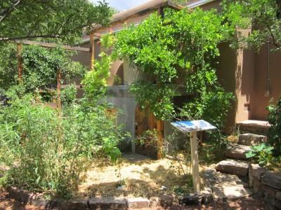 Kitchen Garden & Coop Tour 2014 - The Raincatcher Combo Cistern Stand and Chicken Coop