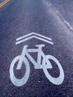 Shared Lane Marking - Sharrow