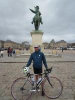 Cyclist at Versailles