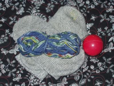 Darning wool socks
